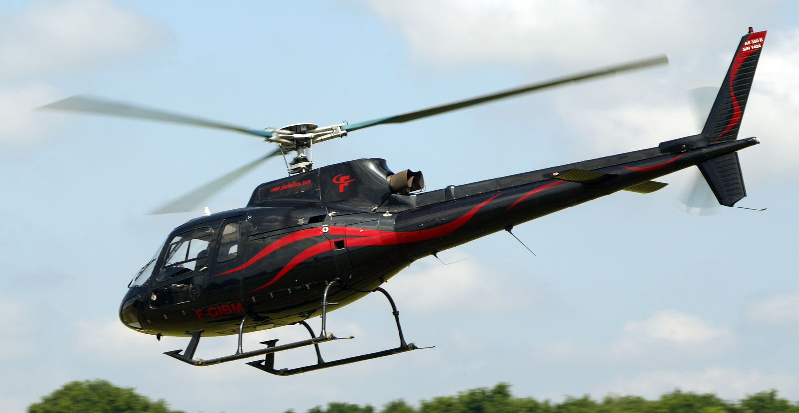 Aerospatiale AS 350B Ecureuil F-GIBM ABC Helicopters