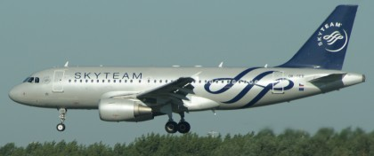 Airbus A319-112 OK-OER SkyTeam (CSA - Czech Airlines)