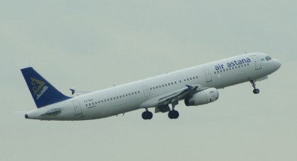 Airbus A321-231 P4-NAS Air Astana