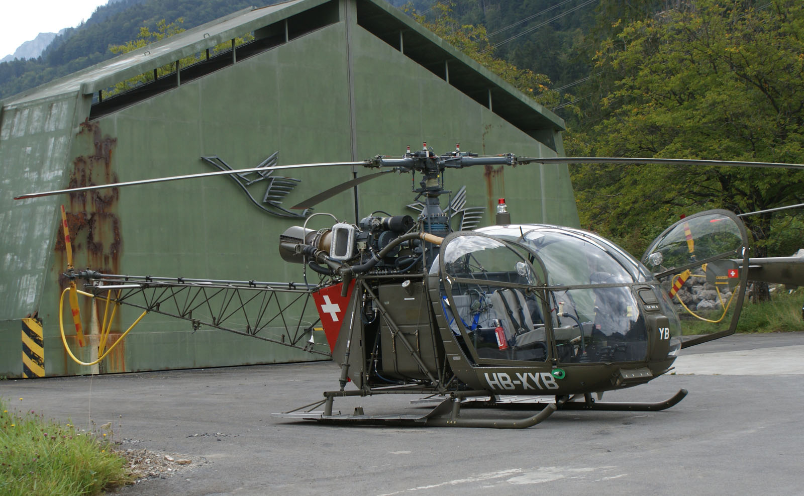 Aerospatiale Alouette II HB-XYB ex Swiss Air Force