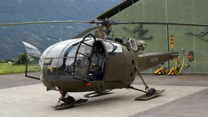 Alouette III HB-XXM private ex Swiss Air Force