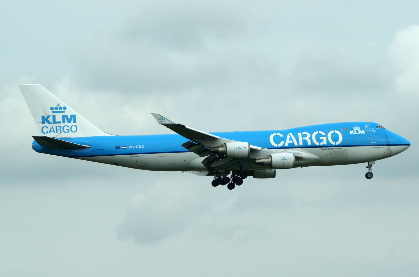 Boeing 747-406F/ER/SCD PH-CKC KLM Cargo