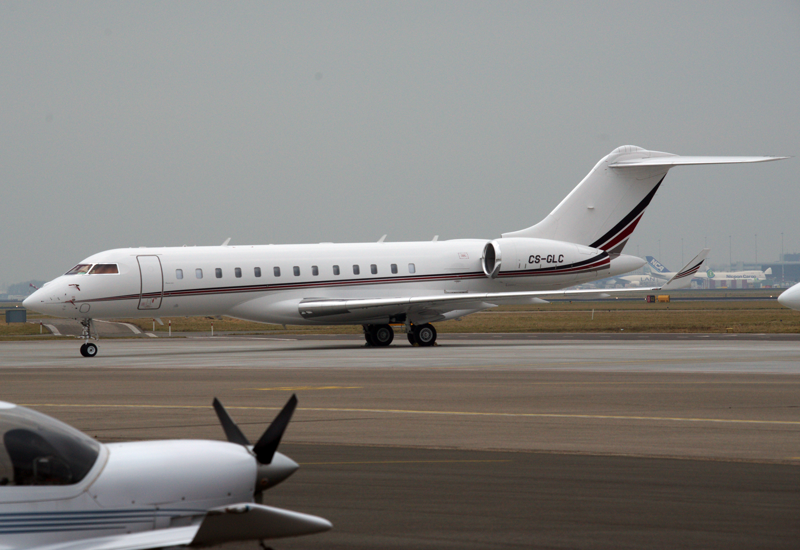 Bombardier Global Express 6000 CS-GLC NetJets Europe