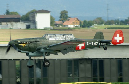 EKW C-3603 D-FRBI/C-547 privat/Swiss AF colours