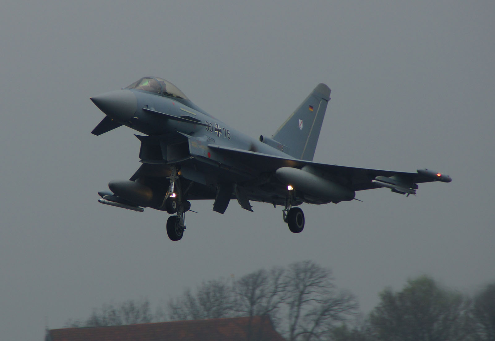 Eurofighter EF2000 Typhoon 30+76 German Air Force