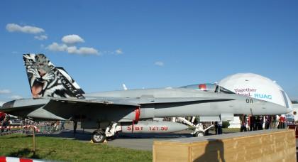 McDonnell Douglas F/A-18C Hornet J-2011 Swiss Air Force NATO Tigermeet 2014