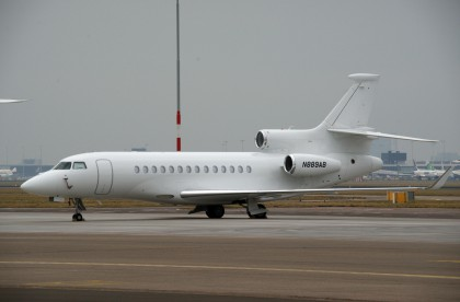 Dassault Falcon 7X N889AB Bank of Utah Trustee
