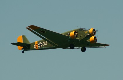 Junkers (CASA) 352L (Ju-52) F-AZJU AZ+JU Luftwaffe