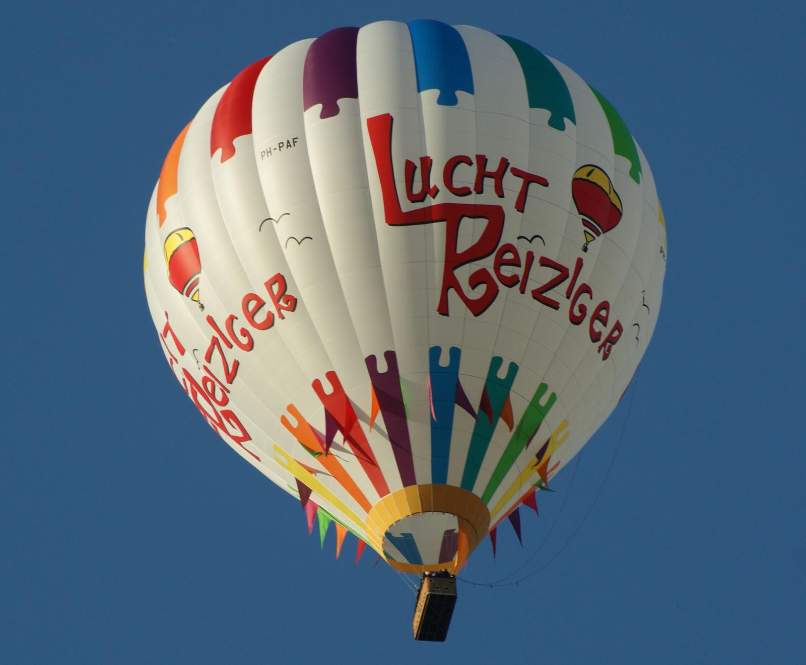 Kubicek BB100Z PH-PAF de Luchtreiziger Ballonvaarten