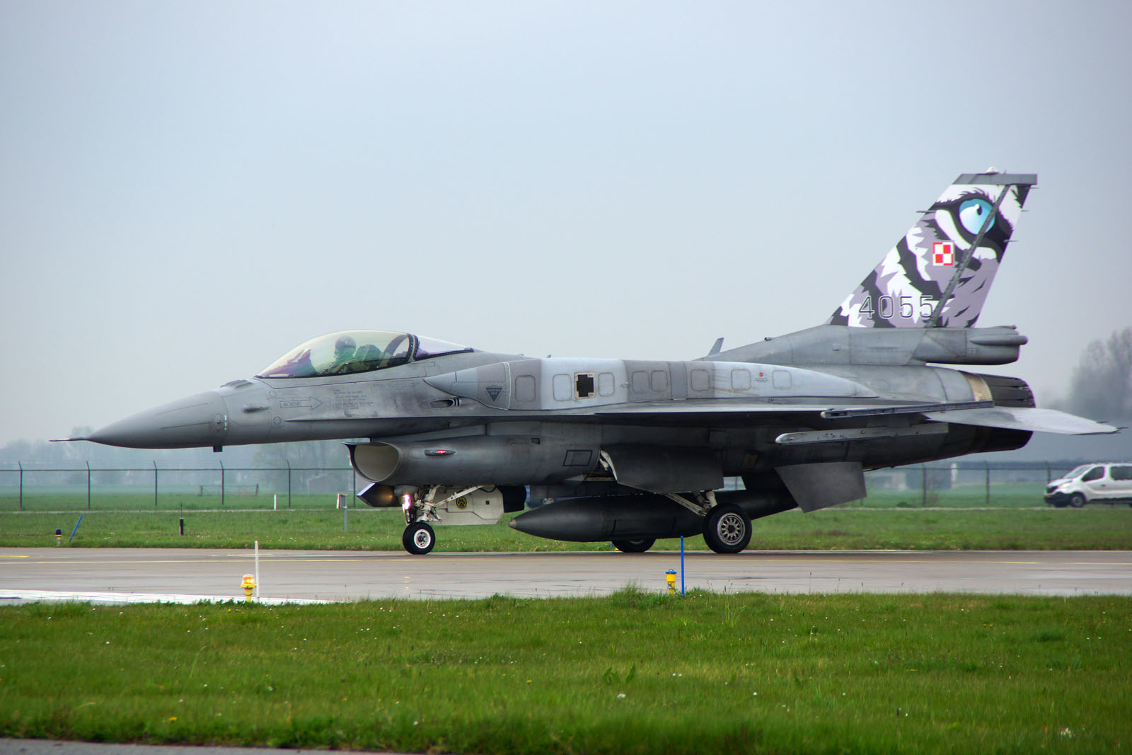 Lockheed Martin F-16C 4055 Polish Air Force