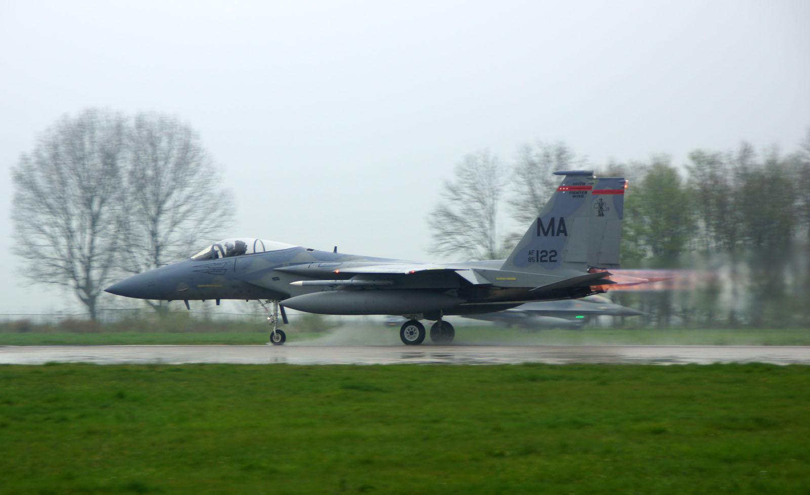 McDonnell Douglas F-15C Eagle 85-0122 MA USAF