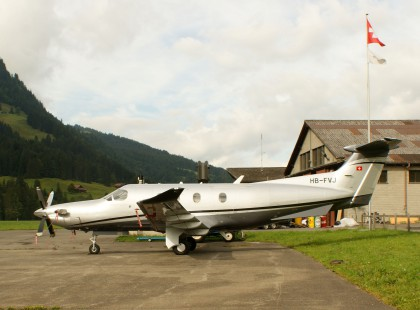 Pilatus PC-12 HB-FVJ Privat