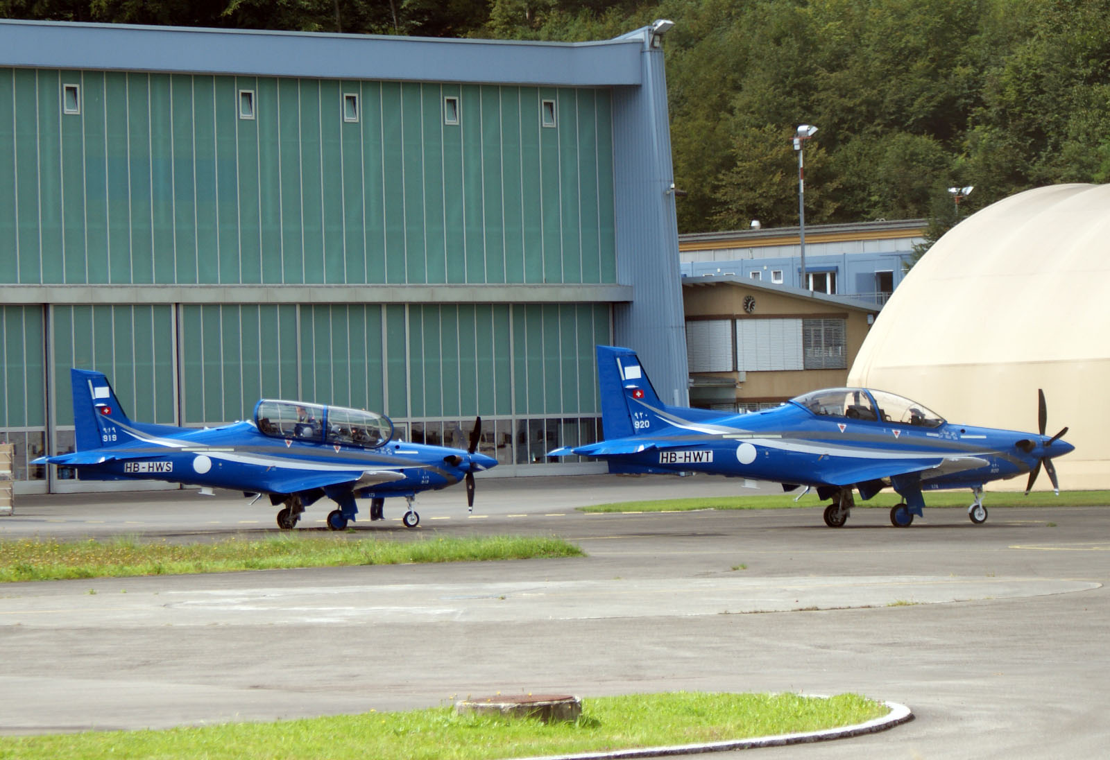 Pilatus PC-21's HB-HWS and HB-HWT Royal Saudi Air Force