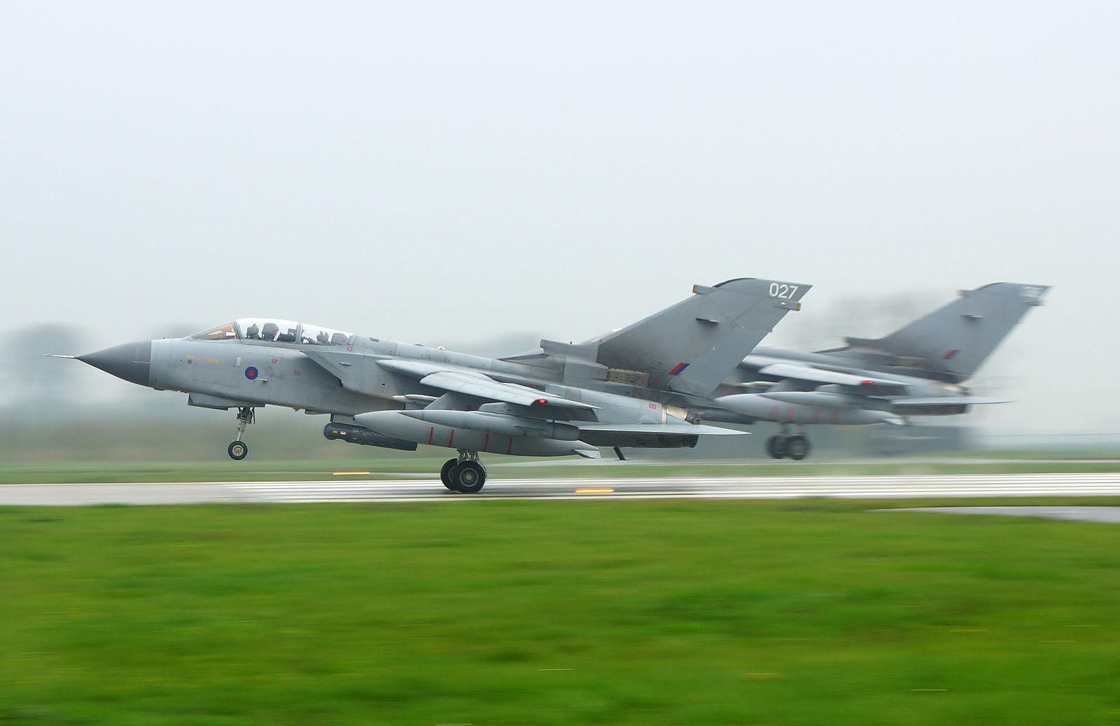 Panavia Tornado IDS RAF at Frisian Flag 2016 Leeuwarden AB, Netherlands