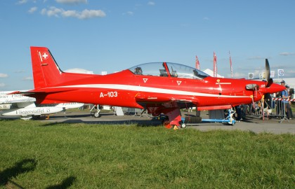 Pilatus PC-21 A-103 Pilotenschule Swiss Air Force
