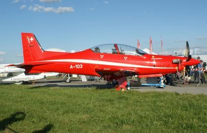 Pilatus PC-21 A-103 Pilotenschule Swiss Air Force