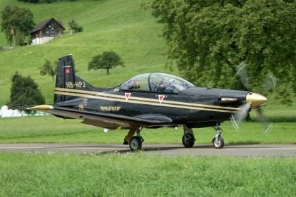 Pilatus PC-9 HB-HPJ Pilatus Aircraft