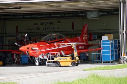 Pilatus PC-21 HB-HZD Pilatus Aircraft Prototype