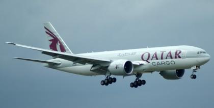 Boeing 777-FDZ A7-BFE Qatar Airways Cargo
