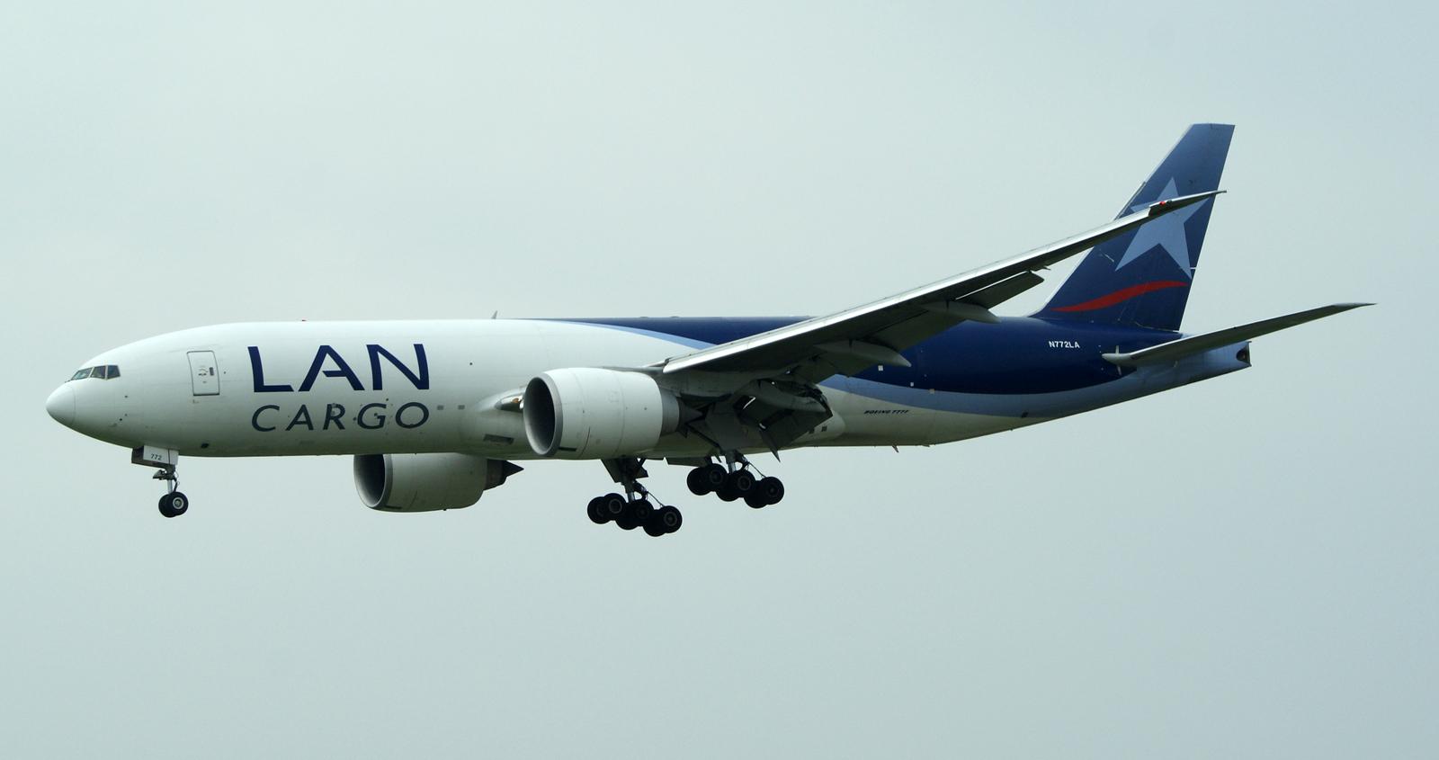 Boeing 777F N772LA LAN Cargo