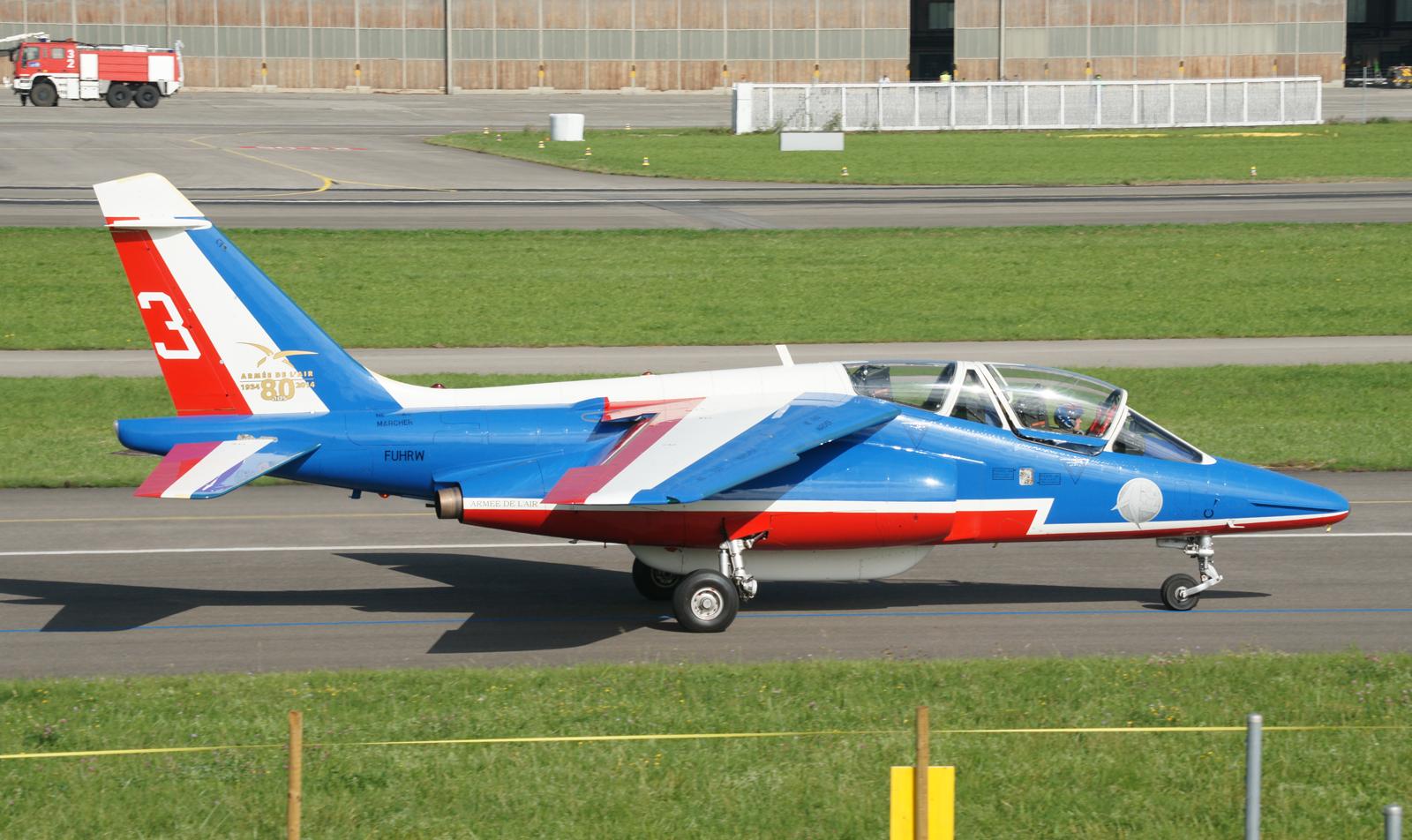 Dassault Dornier Alpha Jet E F-UHRW/E166/3 Patrouille de France
