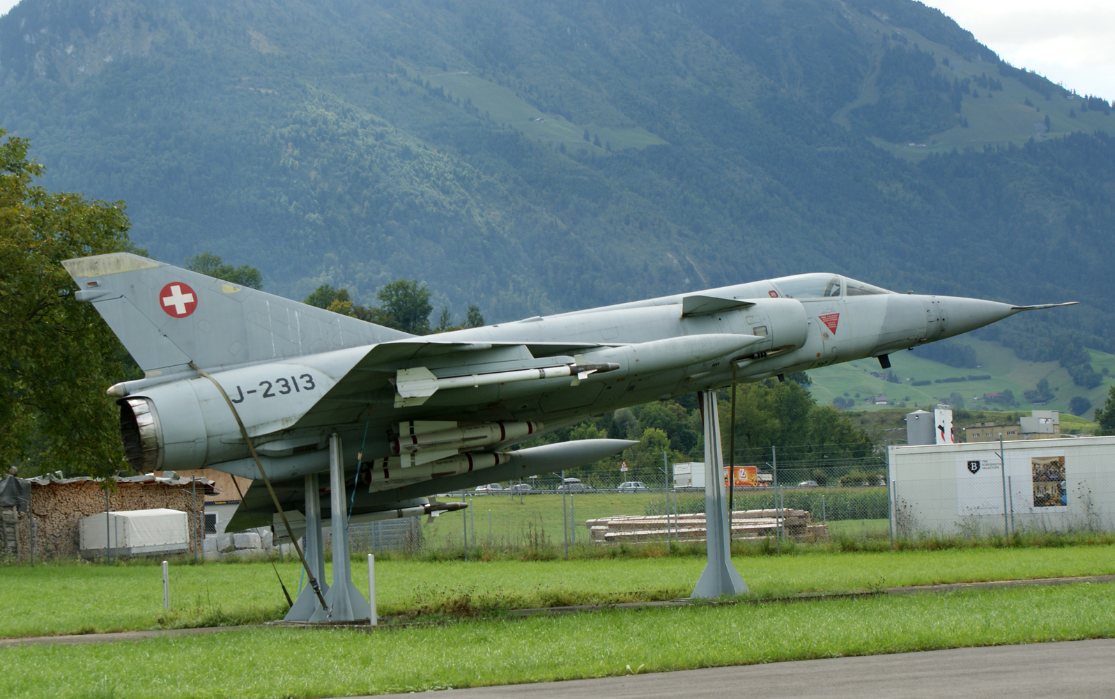 Dassault Mirage IIIS J-2313 Swiss Air Force