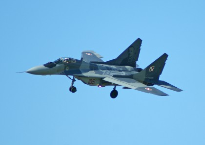 Mikoyan MiG-29A 105, 23.BLT (1.elt) Polish Air Force