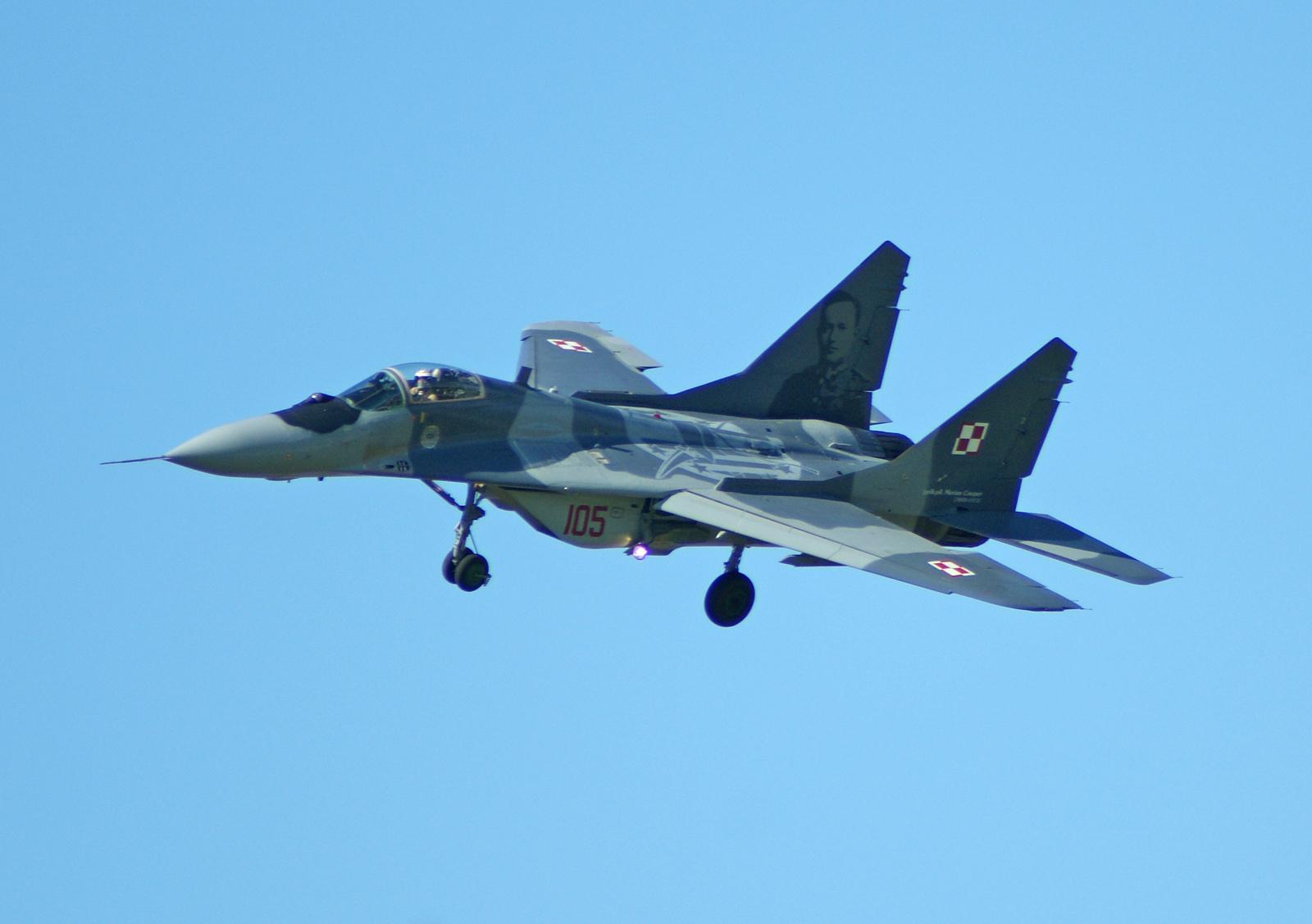 Mikoyan Gurevich MiG-29A 105, 23.BLT (1.elt) Polish Air Force