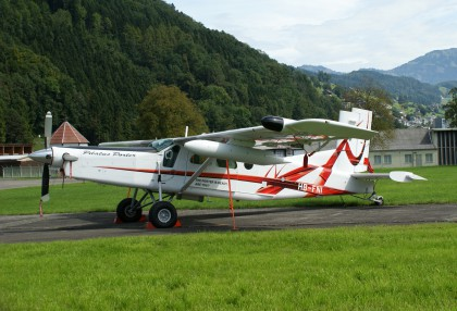 Pilatus PC-6B2-H4 Turbo Porter HB-FNI Pilatus Aircraft