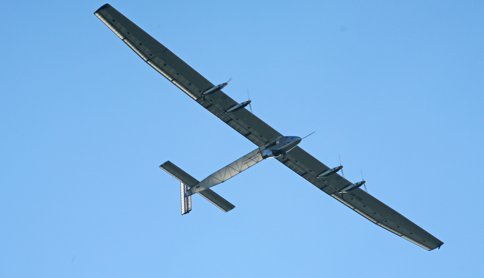 Solar Impulse 2 HB-SIB first aircaft around the world on solar power