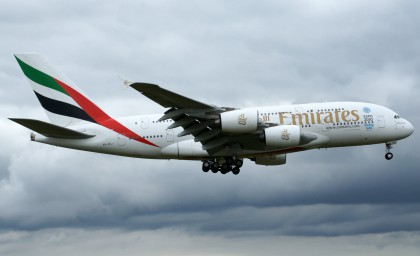 Airbus A380 A6-EDJ Emirates