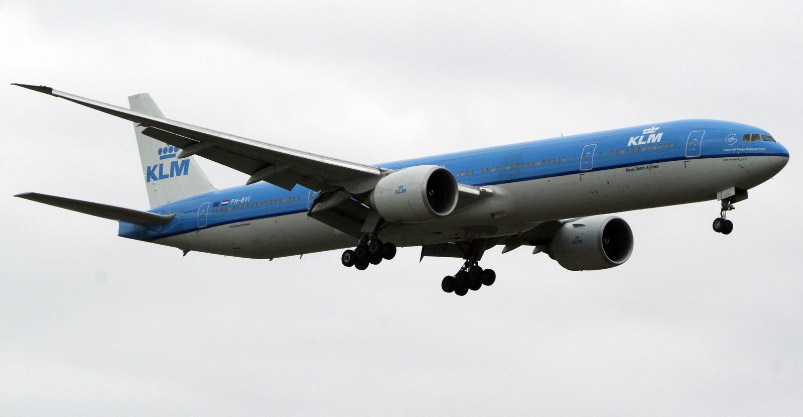 Boeing 777-306ER PH-BVI KLM
