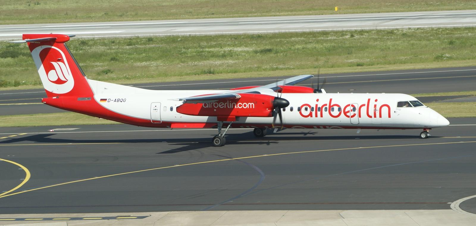 Bombardier Q400 D-ABQG Air Berlin