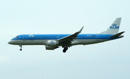 Embraer E-190 PH-EZZ KLM Cityhopper