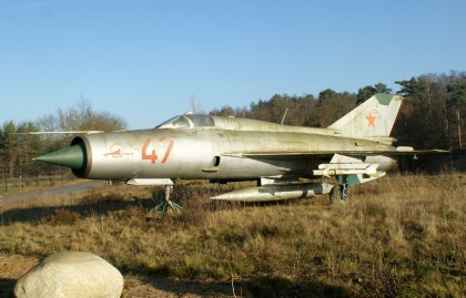 Mikoyan-Gurevich MiG-21SP 47 Soviet Air Force