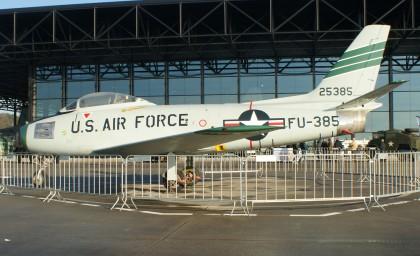 North American F-86F Sabre 52-5385/FU-385 USAF