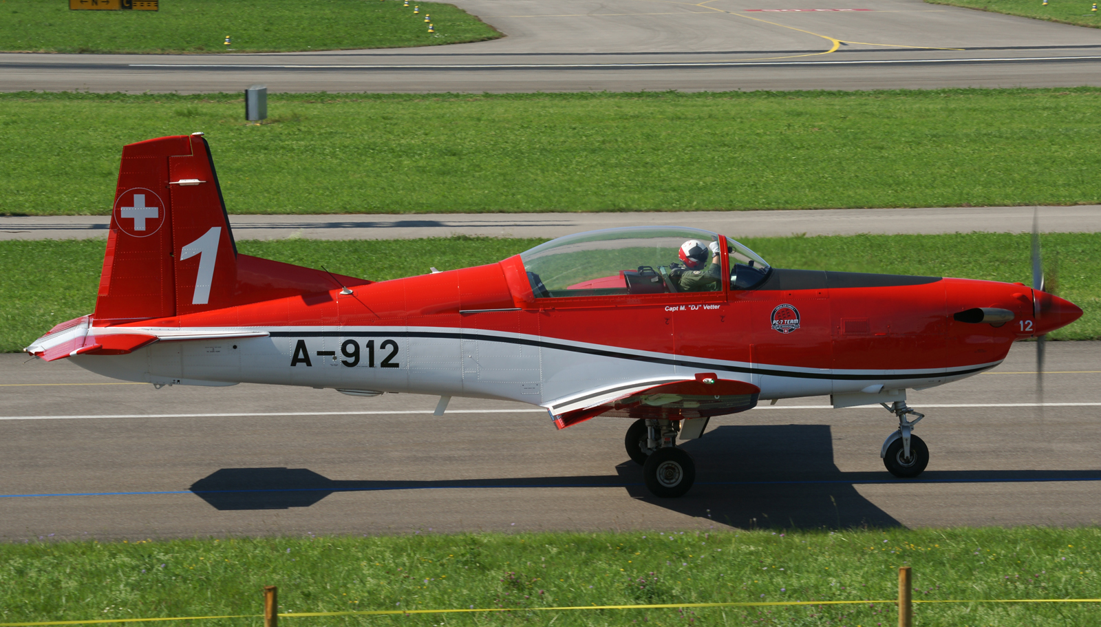 Pilatus PC-7 A-912/1 PC-7 Team Swiss Air Force