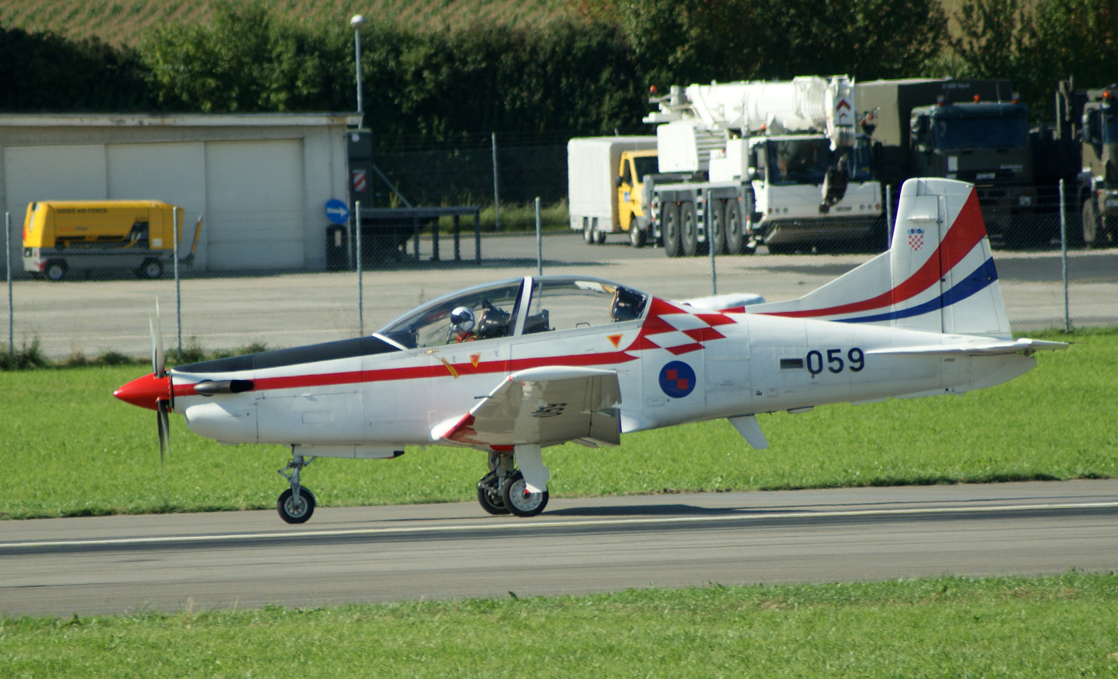 Pilatus PC-9M 059 Croatian Air Force