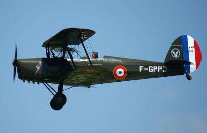 Stampe-Vertongen SV.4C F-GPPJ