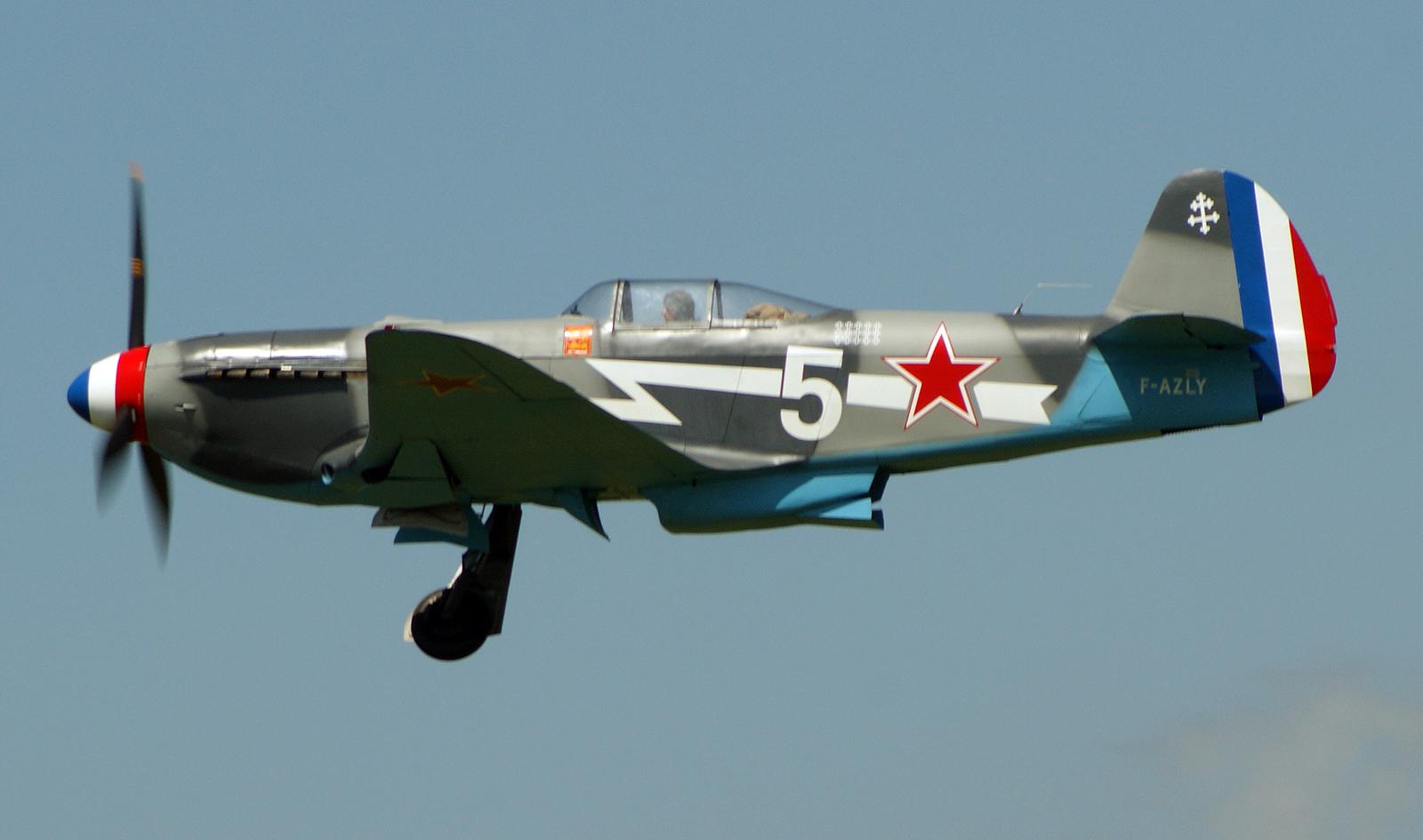 Yakovlev Yak-3UA F-AZLY 5 Soviet Air Force