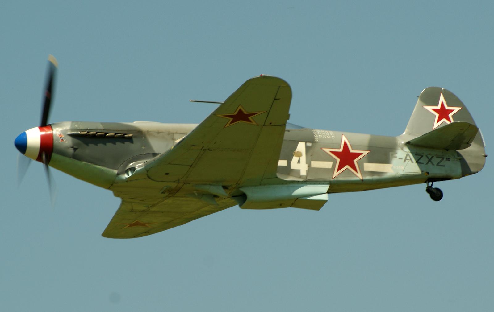 Yakovlev Yak-3UA F-AZXZ 4 Soviet Air Force