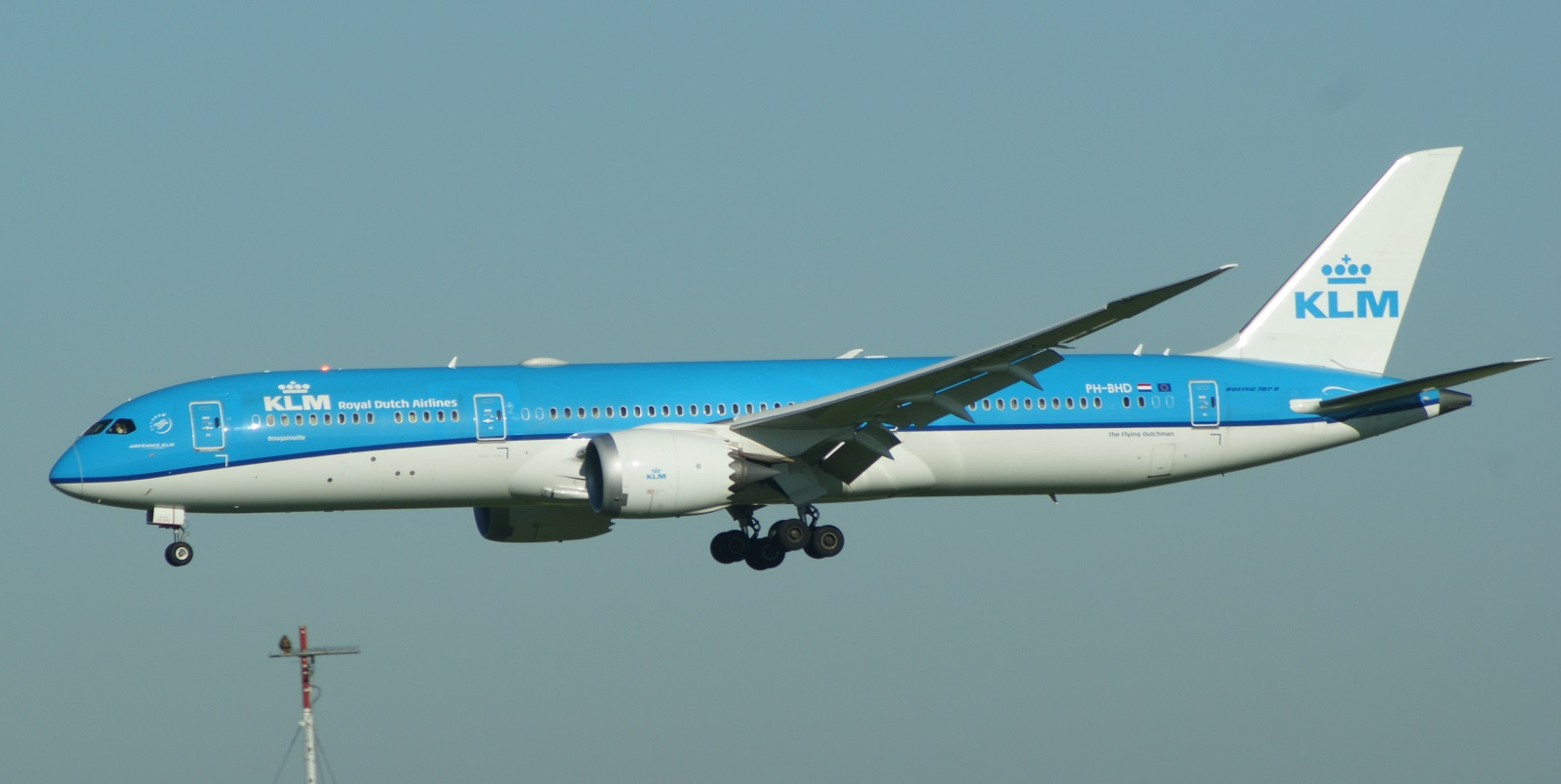 Boeing 787-9 Dreamliner PH-BHD KLM