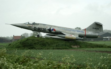 Lockheed F-104G Starfighter D-8030 ex Royal Netherlands Air Forc