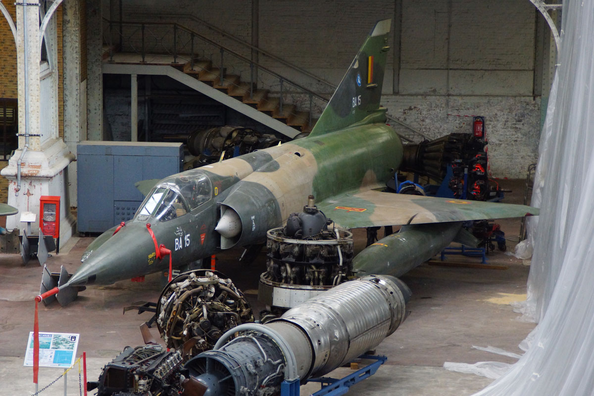 Dassault Mirage 5BA BA-15 Belgium Air Force