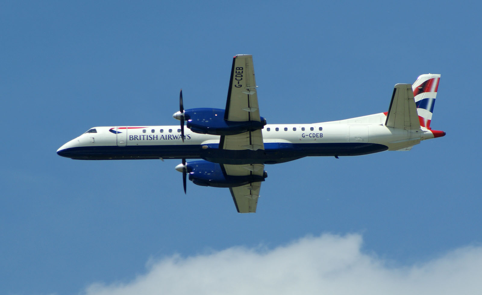 Saab 2000 G-CDEB British Airways