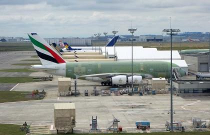 Airbus A380-861 F-WWSX Emirates