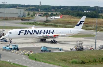 Airbus A350-941 F-WZFO Finnair