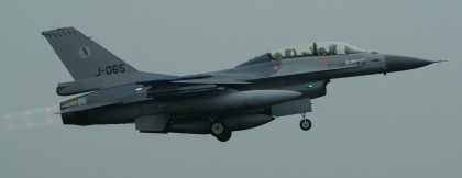 F-16BM Fighting Falcon J-065 322 Sqn Royal Netherlands Air Force